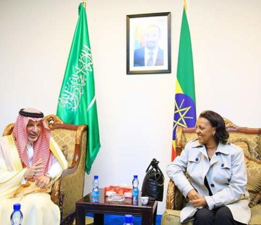 50-Strong Saudi Arabian Delegation Arrives in Addis
