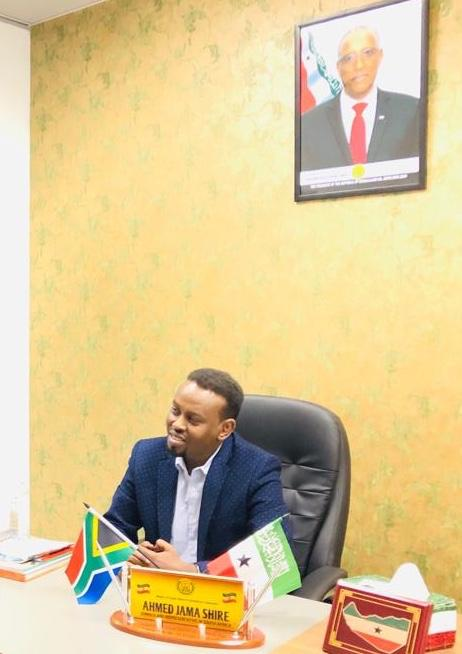 Somaliland Ambassador  to South Africa Ahmed Jama Shire