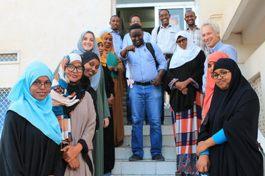 King's Somaliland Partnership is one of the UK's largest and longest-running global health partnerships