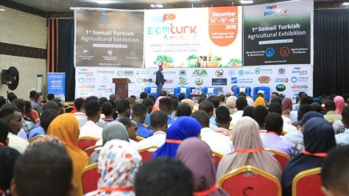 """logo logo × ECONOMY, AFRICA Somali-Turkish agriculture expo kicks off Minister for Labor and Social Affairs seeks Turkey's assistance to help Somalia realize its potential in agriculture Magdalene Mukami 