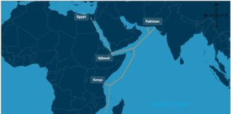 Submarine Cable Linking East Africa Lands In Djibouti