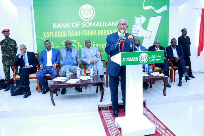 Somaliland government launches mobile platform for salary payments