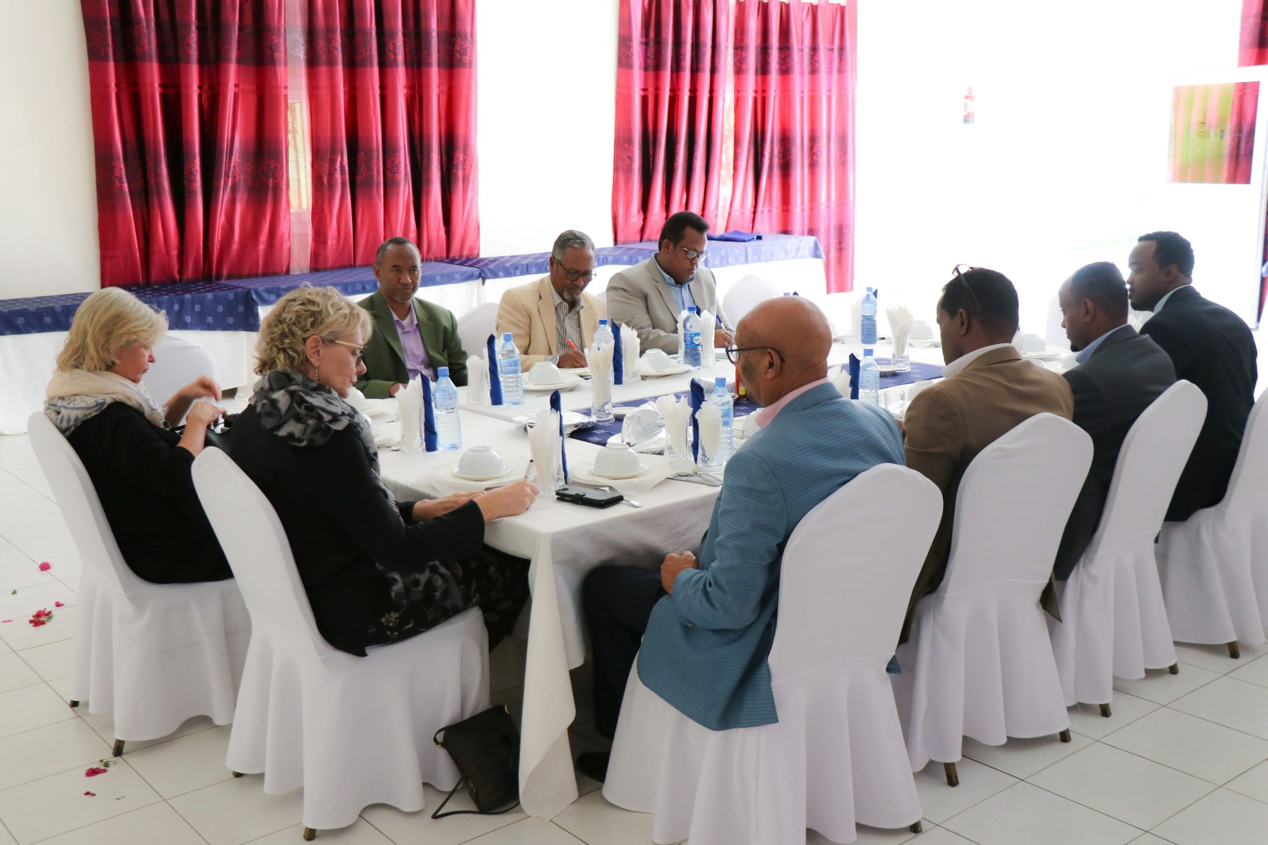 Denmark Ambassador meets Somaliland Opposition parties UCID and Waddani
