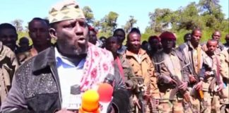 Somaliland:Colonel Arre accepts Peace Agreement and handed all his Armed Militia