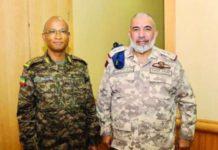 Ethiopian, Qatari military chiefs discuss bilateral relations