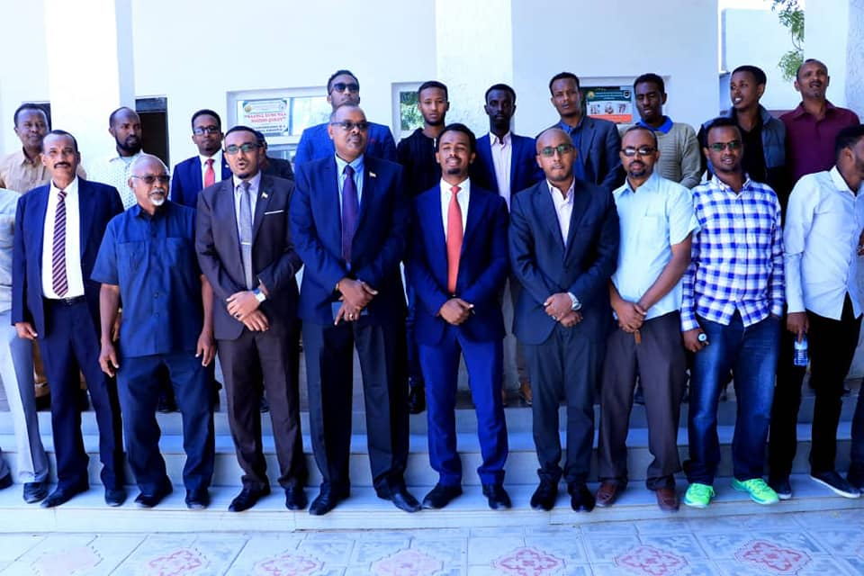 Somaliland:New Chairman of Good Governance and Anti-Corruption Commission takes office