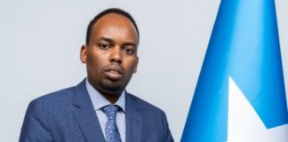 Senator Ilyas Ali Hassan National resources, transportation and infrastructure committee of Somali upper house