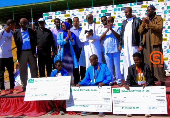 Third Dahabshiil-Somaliland Marathon 2020 held
