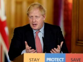 UK Prime Minister Boris Johnson has tested positive for coronavirus. PhotoREUTERS
