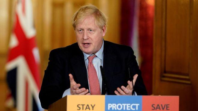 UK Prime Minister Boris Johnson has tested positive for coronavirus. PhotoREUTERS