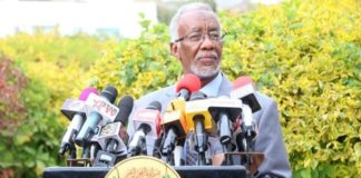 Somaliland Foreign Affairs and International Cooperation Minister Yasin Hagi Mohammed