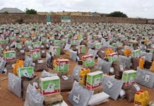 15400 food parcels from Saudi Arabia to the Somaliland