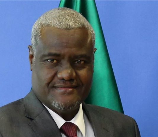 AU Commission chief in quarantine after staffer positive for coronavirus
