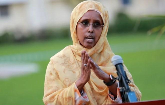 Somalia Minister for Health and Social Care Fowziya Abikar Nur