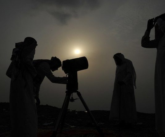 Eid Al-Fitr celebrations will begin in on Sunday May 24, according to authorities in Saudi Arabia. (AFP/File Photo)