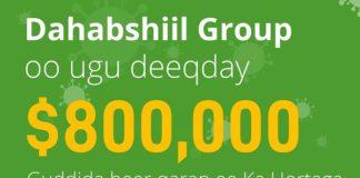 Dahabshiil donates $800K to combat COVID 19 in Somaliland