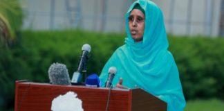Somalia minister of health Fowziya Abikar Nur