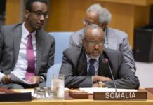 Somalia ambassador to the United Nations Abukar Osman elected UNGA Vice President