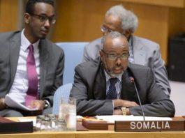 Somalia ambassador to the United Nations Abukar Osman elected UNGA Vice President