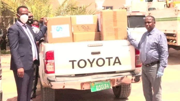 Somaliland Receives Medical Supplies From RAK Gas LLC