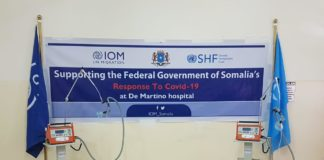 IOM Somalia donates 20 ventilators to De Martino Hospital in Mogadishu to support the fight against COVID19 in Somalia.
