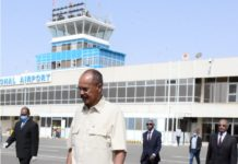 Eritrea President leaves for Sudan on working visit