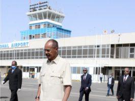 Eritrea President leaves for Sudan on working visit