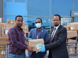 Ethiopia Donates 15t Of COVID-19 Medical Supplies To Somalia
