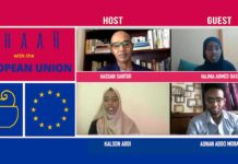 The European Union and young Somali artists come together to combat Covid-19