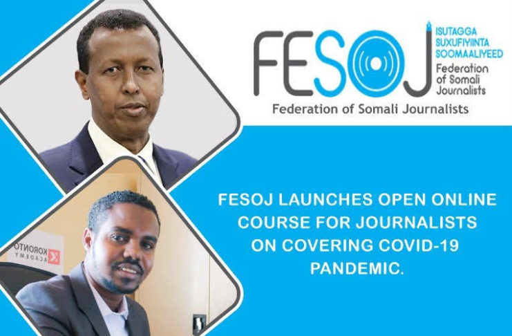 FESOJ Concludes COVID-19 Somali Media Coverage Monitoring