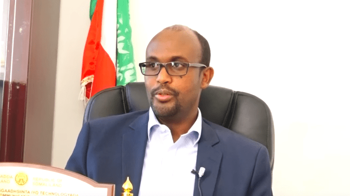 Somaliland Minister of post MrAbdiweli Sufi Jibril