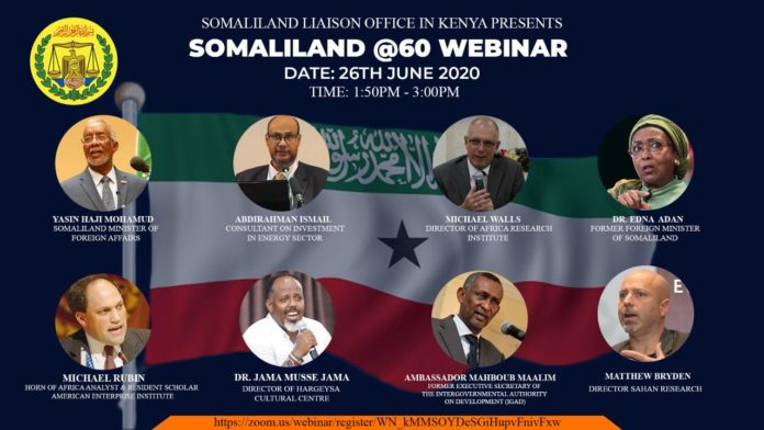 Somaliland Liaison office in Kenya is hosting Teleconference Meeting on 60 years of Somaliland Achievements