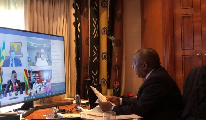 AU Holds Virtual Meeting On Progress Of GERD Dispute Resolution