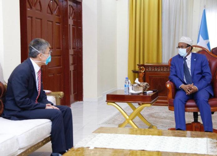 Somalia President Meets Chinese Ambassador, React to Taiwan-Somaliland Relations