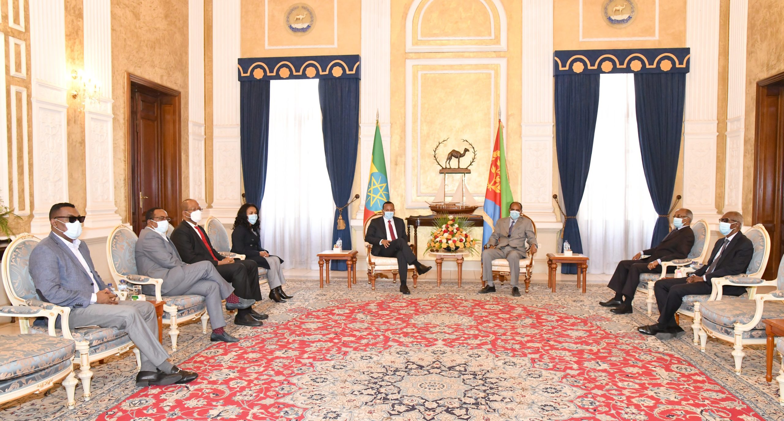 Ethiopian PM arrives in Eritrea on working visit