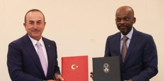 Turkish FM arrives in Togo to boost bilateral ties