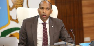 Somalia lawmakers on Saturday voted no-confidence vote against Prime Minister Hassan Ali Khaire and his cabine Photo courtesy: OPM