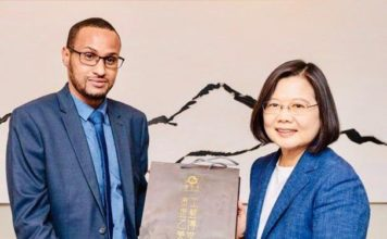 Somaliland, Taiwan Names Mohamed Hagi Its Representative to Taiwan