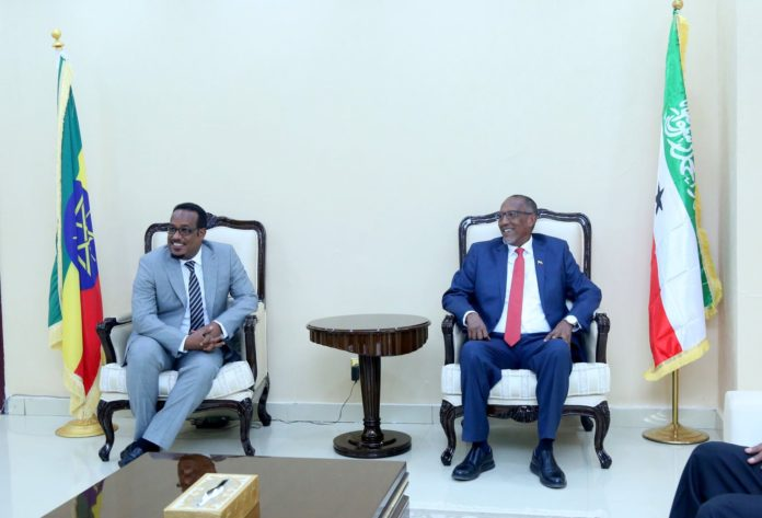 Somaliland President receives Ethiopia New Consul general
