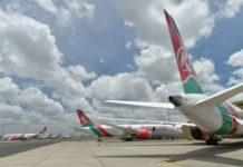© TONY KARUMBA Tanzania has banned Kenya Airways flights as part of a diplomatic spat