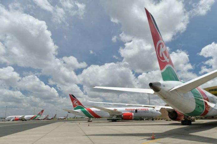 © TONY KARUMBA Tanzania has banned Kenya Airways flights as part of a diplomatic spat