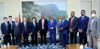 Somaliland President meets with high-level delegation from China