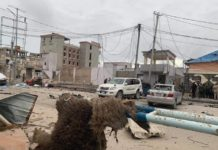 At least five people have been killed and more than 10 others were injured following a car bomb explosion and assault by gunmen at a hotel in Mogadishu, Somalia, according to a government official who spoke to AFP. COURTESY: Social Media
