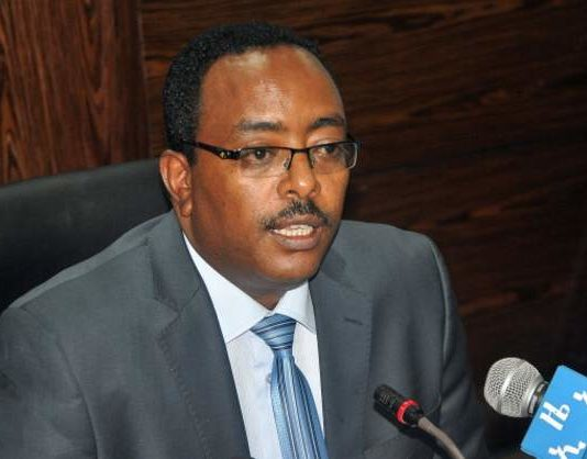 Ethiopian Foreign Minister Redwan Hussein