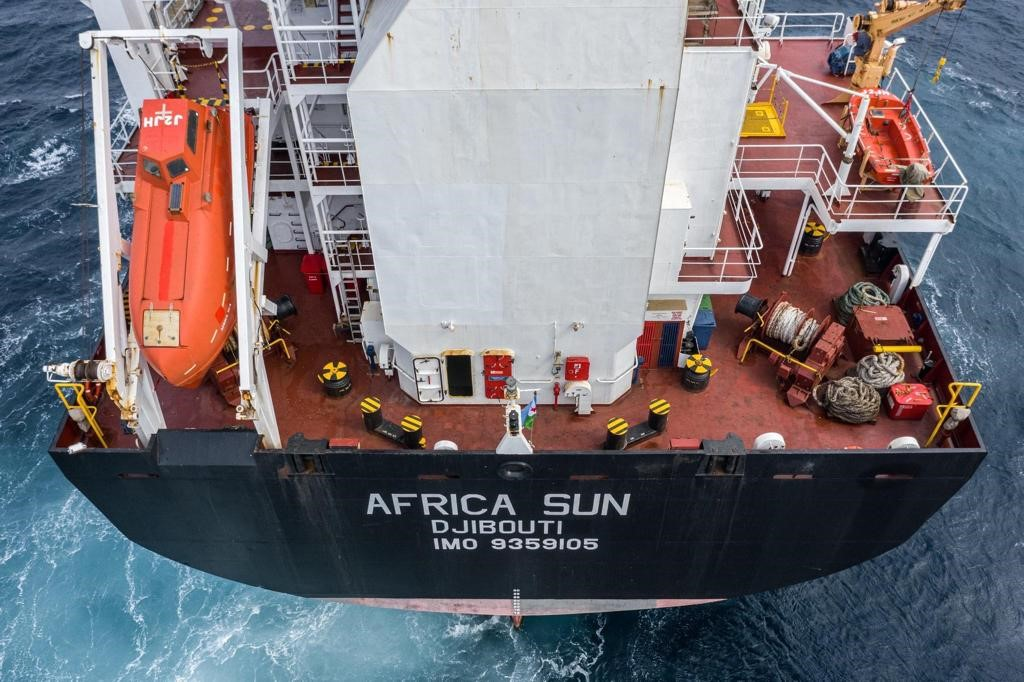 Africa Sun, first ship owned by Djibouti Shipping Company to bolster regional trade