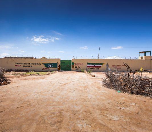 Gates of Aynabo Prison in Sool Region (Photo Credit: Petterick Wiggers)