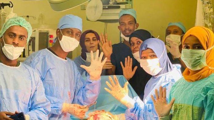 Somalia Mogadishu Turkey Recep Tayyip Erdogan Training and Research Hospital announced the birth of quintuplets, one of the rarest births in the world.