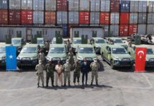 Turkey delivers 12 off-road vehicles to Somalia