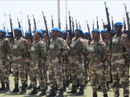Nearly 2,500 Somalian soldiers trained by Turkish military staff so far, with target of 5,000, says Turkish ambassador