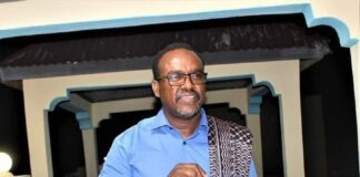 Somaliland minister of information Suleiman Yusuf Ali (Koore)